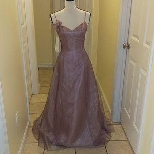 NWT Scott McClintock Iridescent Rose Formal Dress